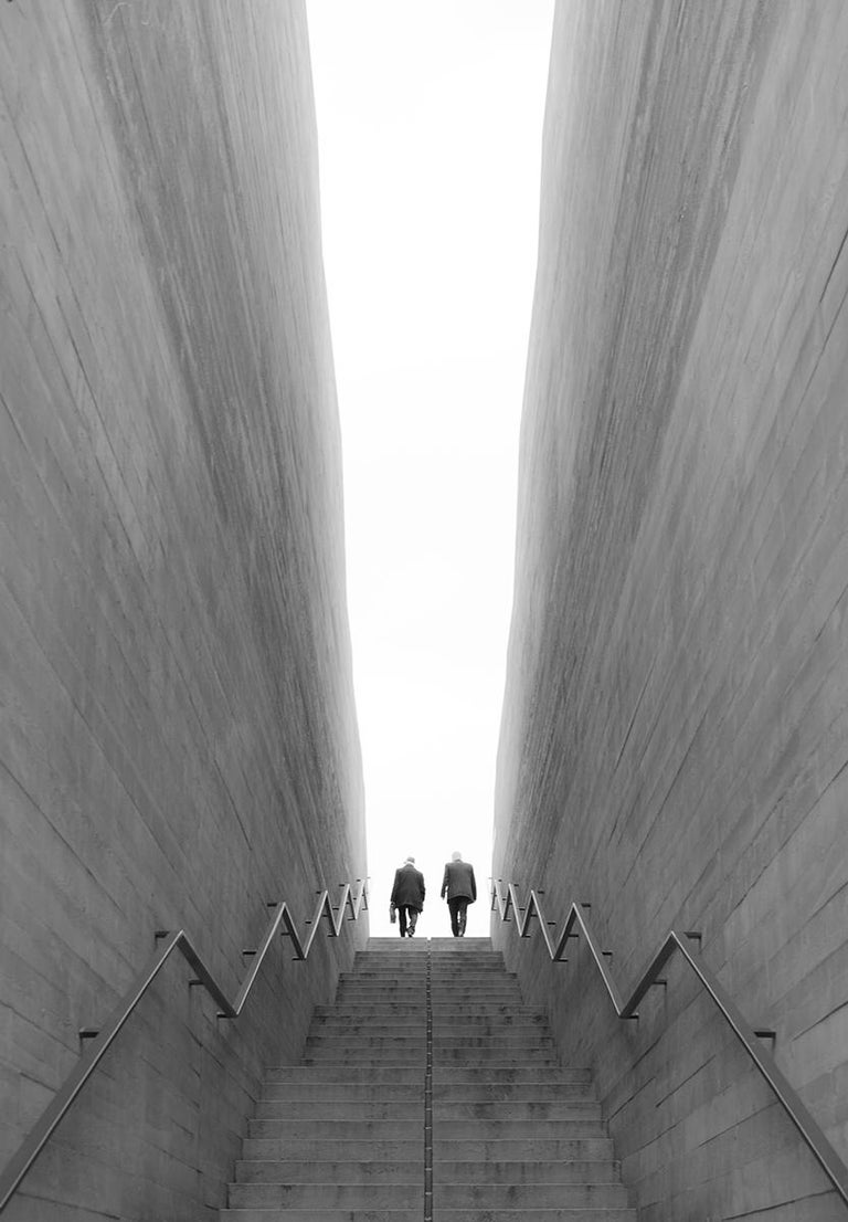 Marcin Ryczek Black and White Photograph - Transition
