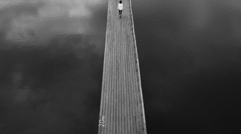 Marcin Ryczek Black and White Photograph - The Way
