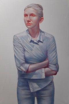 Tightness - (Large Format Painting)