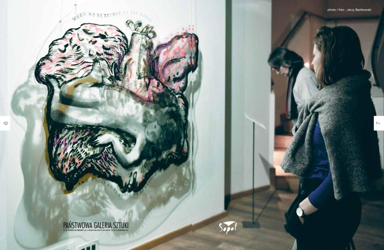 Katarzyna Swinarska is a contemporary visual artist working with painting and video which often follows the convention of video performance. She creates also multimedia projects where she combines projection and sound. She is an alumnus of the