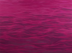 Pink Water  - (The Sea) - Large Format Painting