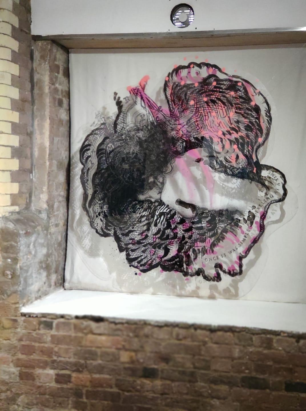 Heart I - Spatial Installation Painting Object, Contemporary Figurative Painting