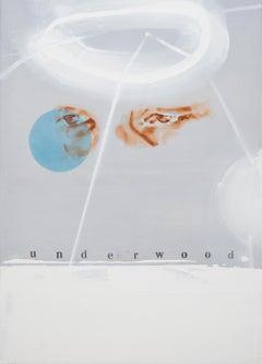 Underwood - Contemporary Figurative Painting, Dada Art, Modern Portrait, Pop Art