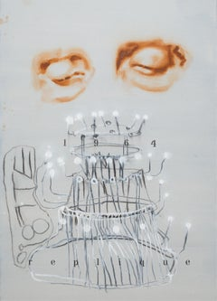 1964 Réplique - Contemporary Figurative Painting, Dada Art, Modern Portrait