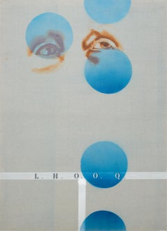 L.H.O.O.Q. - Series Duchamp, Modern Figurative Painting, Dada Art, Minimalism