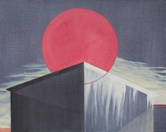 Untitled - Contemporary Painting, Architectural Painting, Geometric Bauhaus
