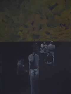 Untitled  4 - Series Final Fantasy, Minutiae Contemporary Figurative Painting