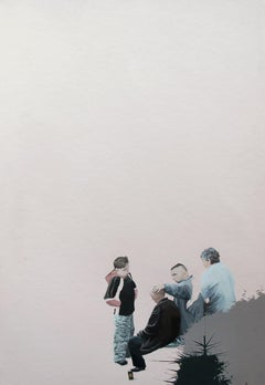 Untitled  2 - Series Final Fantasy, Minutiae Contemporary Figurative Painting
