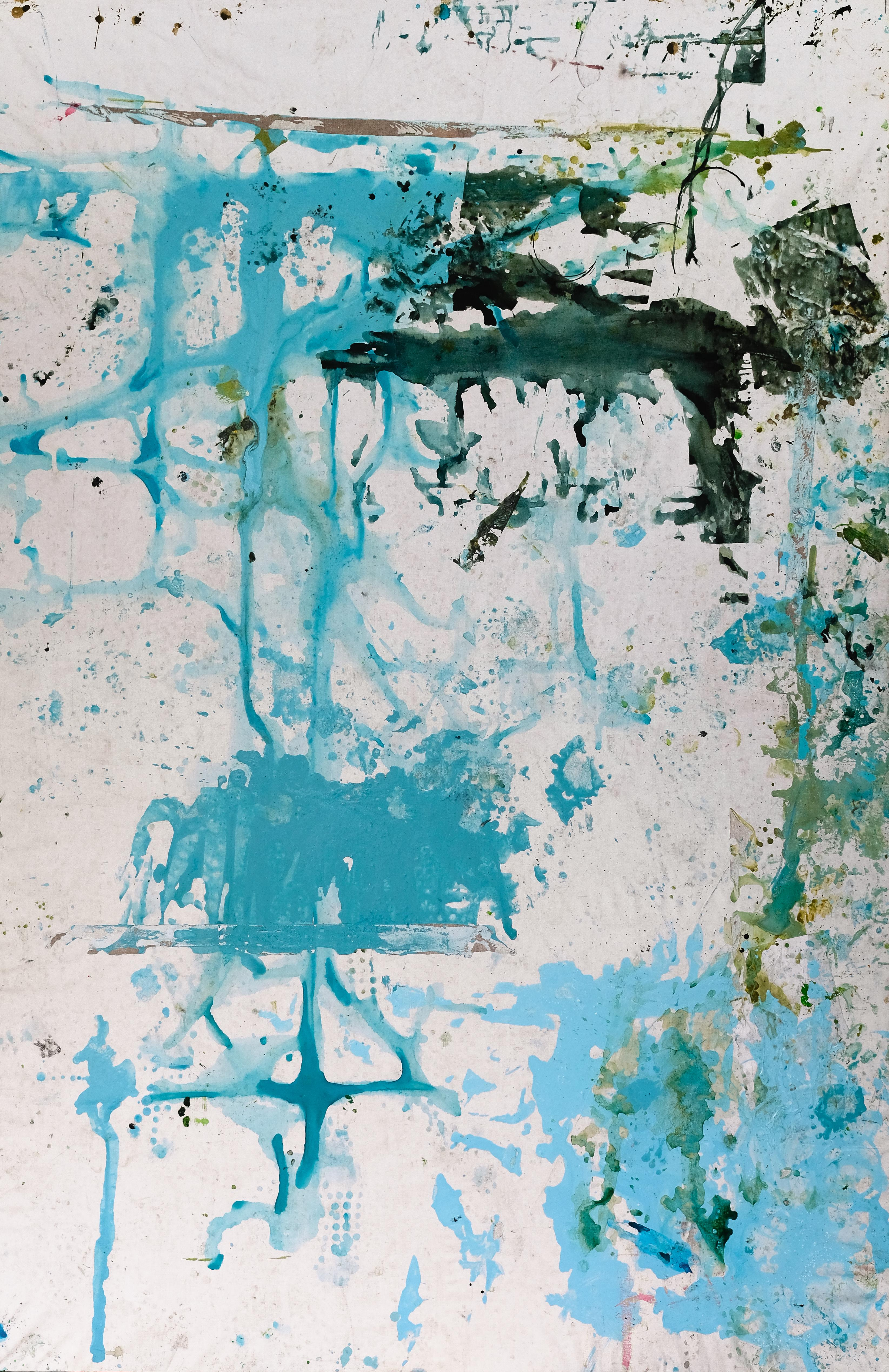Botanical Garden, Traces - Large Format, Contemporary Abstract Natur Painting