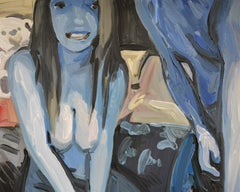 Camera 2 - Contemporary Expressive Figurative Oil Painting, Erotic Scenes