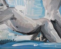 Camera 16 - Contemporary Expressive Figurative Oil Painting, Men Erotic Scenes