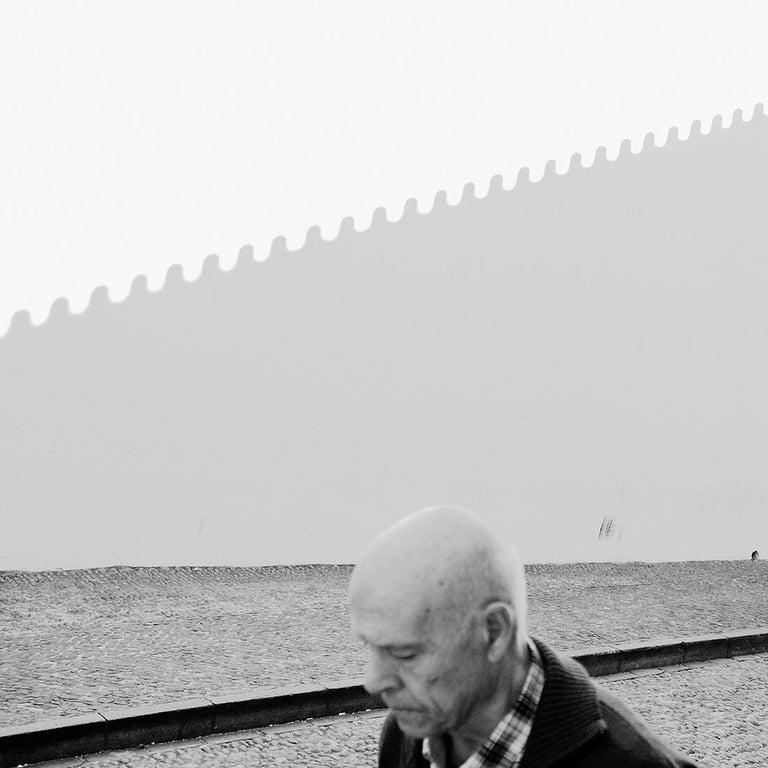 Marcin Ryczek Figurative Photograph - Thoughts - Contemporary Minimalist And Symbolic Photography, Black and White