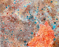 Fox - Contemporary Figurative Oil Painting, Fairytale Motifs, Warm Colours