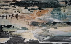Scenery In Construction I - Contemporary Nature, Landscape Abstract Painting