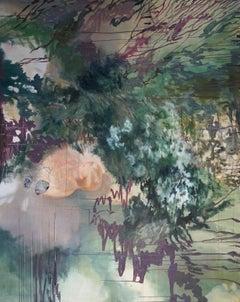 Childhood -   Contemporary Nature Oil Painting, Landscape, Portrait, Plants