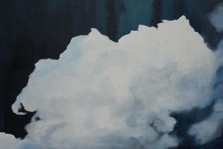 Escape - Large Format Contemporary Nature Oil Painting, Landscape, Mountains For Sale 1