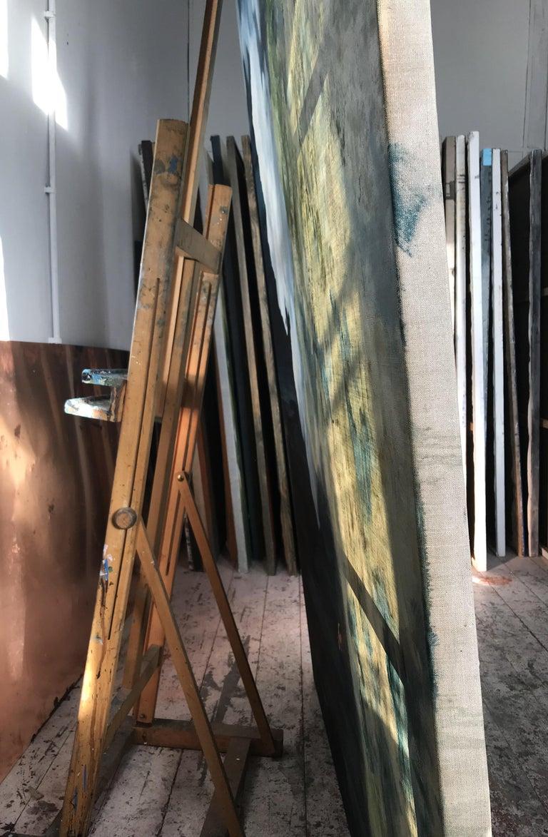 Escape - Large Format Contemporary Nature Oil Painting, Landscape, Mountains For Sale 3
