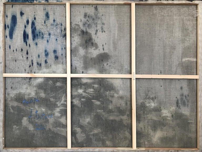 Escape - Large Format Contemporary Nature Oil Painting, Landscape, Mountains For Sale 4