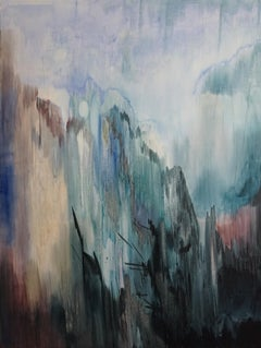 Untitled  - Large Format, Contemporary Nature, Landscape Abstract Painting