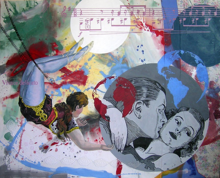 Almudena Rodriguez Abstract Painting - Pygmalion Effect XXIX