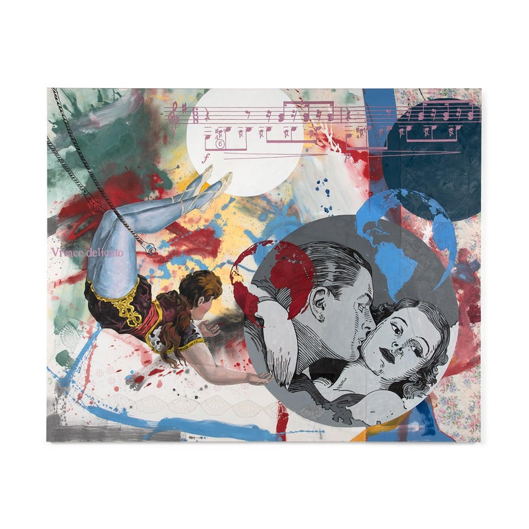 Pygmalion Effect XXIX - Painting by Almudena Rodriguez
