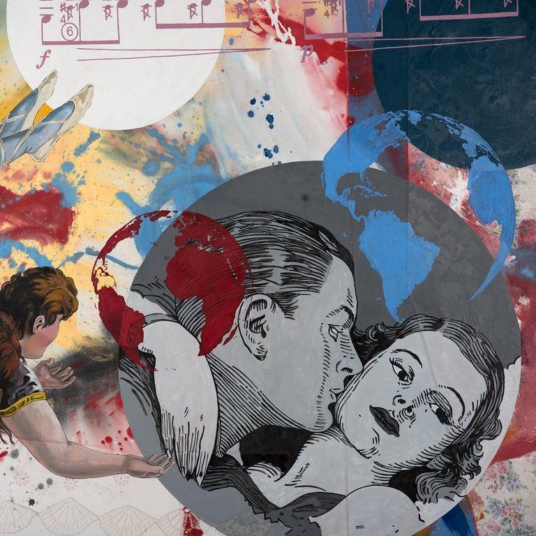 Pygmalion Effect XXIX - Pop Art Painting by Almudena Rodriguez