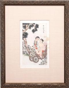 Chinese Erotic Album Leaf