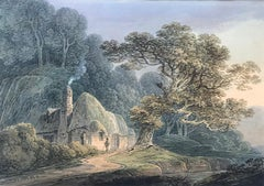 William Payne, 'A Thatched Cottage', 19th century watercolour landscape