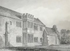 Lyte's Carey, Somerset - two 19th century drawings by John Chessell Buckler