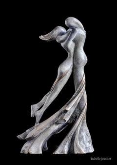 """""""Euphoria"""" (""""Ivresse""""), Sensual Nude Embracing Couple Bronze Sculpture"""