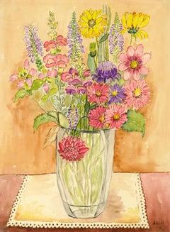 Still Life - Sweet Splendor Floral Watercolor