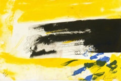 Bright Colored Streak Contemporary Abstract