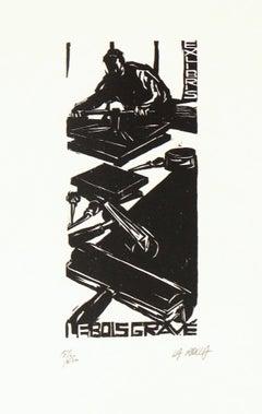 French Woodcut - Le Bois Gravé