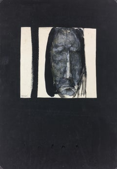Modern French Painting - Le Christ, 1990s