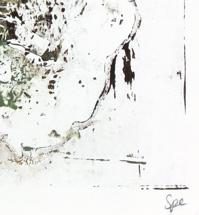 Lacey Abstract - Painting by Unknown