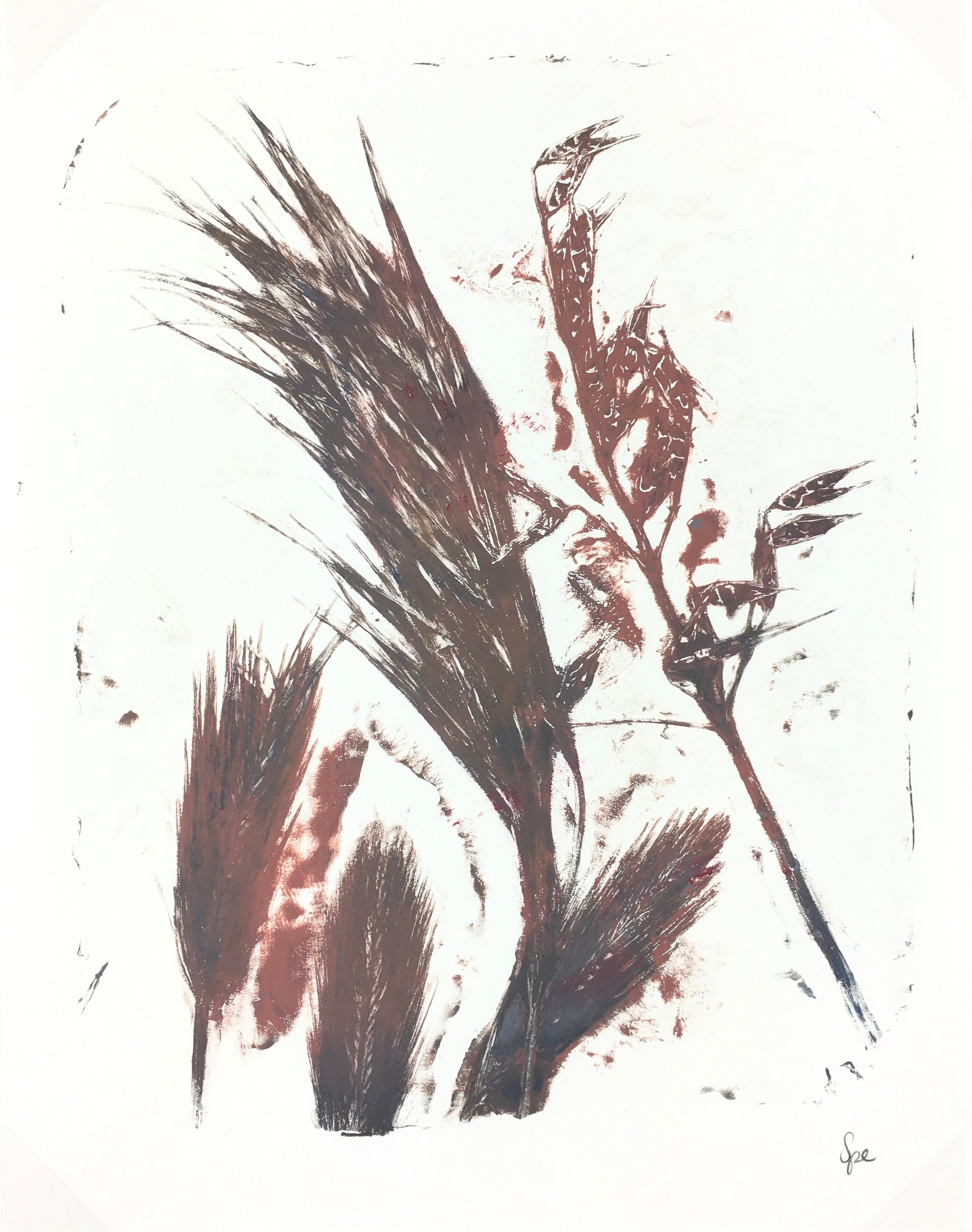 English Abstract Painting - Modern Grass
