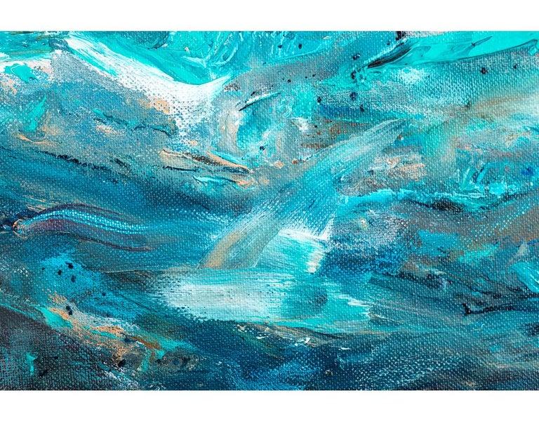 V. under water - Painting by Emma Gomara