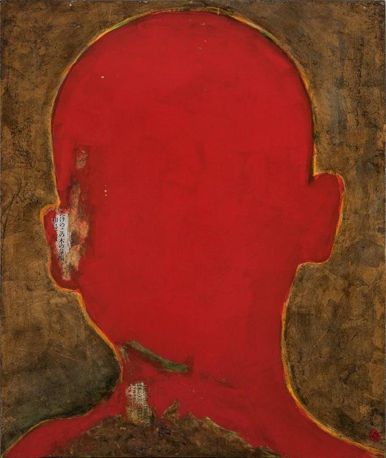Alejandro Hermann Portrait Painting - WHO AM I? 81