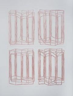 FRAUKE SCHLITZ, Water's Edge, Four Parts Piece, 2016