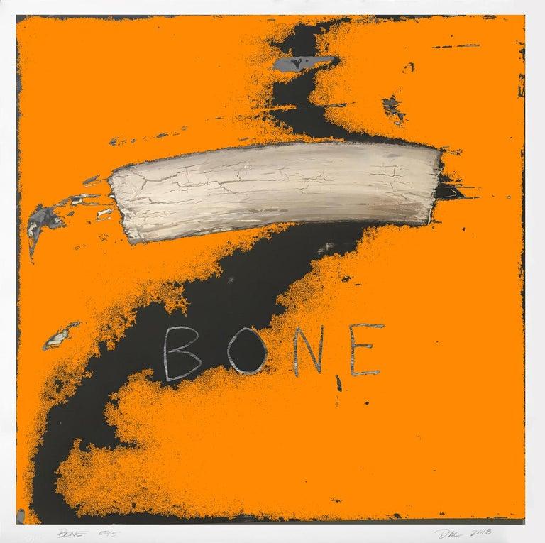 Dal Henderson Abstract Print - Bone