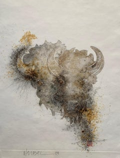 TWO HEADS  American Bison Series