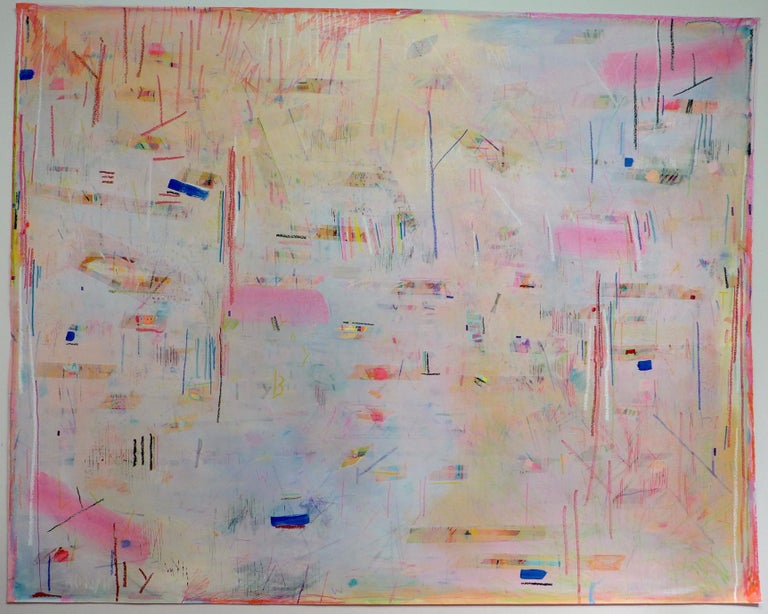 Meghan Hedley Abstract Painting - Between Equinox and Solstice