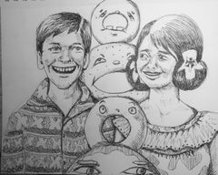 Aloha Donuts Sketch 2020