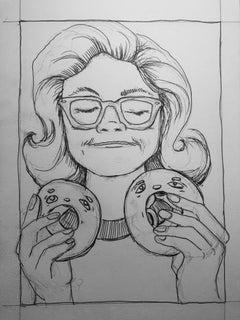 Donut Spex Sketch