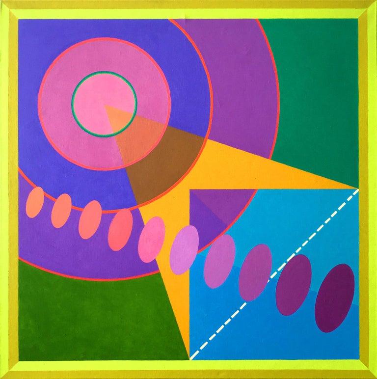 Gloriane Harris Abstract Painting - Earthquake