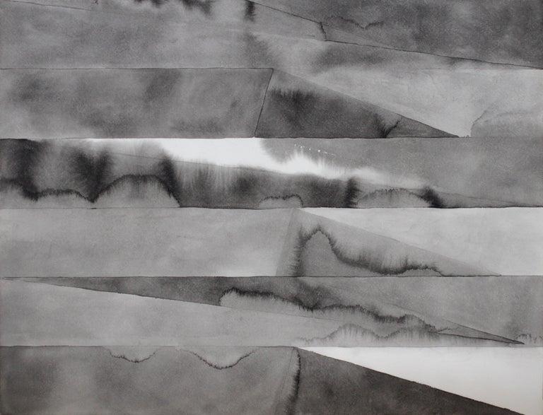 Gloriane Harris Abstract Drawing - Grey