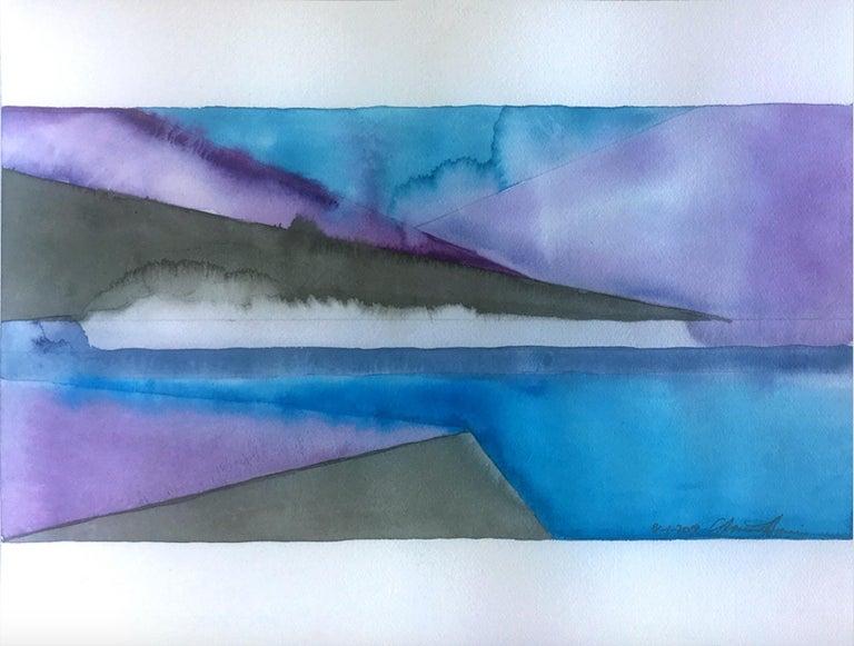 Gloriane Harris Abstract Drawing - Vapor and Calm