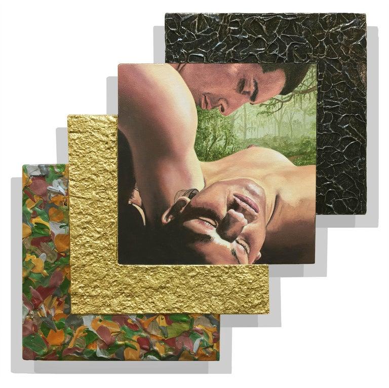 The Ecstasy of Saint Sanchez ARTIST NAME MEDIUM YEAR  - Mixed Media Art by Jack Reilly