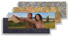 Jack Reilly, Adam and Eve in Tuscany, 2017