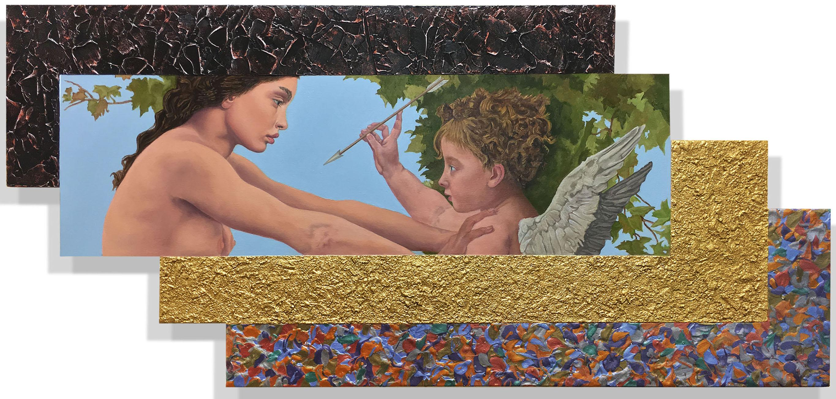 Jack Reilly, Young Eros and the Girl (Tribite to Bouguereau), 2017